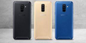 Samsung представила цельнометаллические смартфоны Galaxy A6 и Galaxy A6+