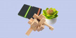 Находки AliExpress дешевле 300 рублей: искусственные деревья, деревянные головоломки и наклейки-репелленты
