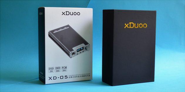 xDuoo XD-05: упаковка