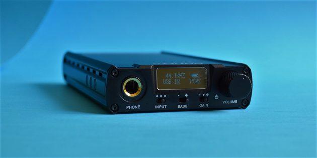 xDuoo XD-05: звук