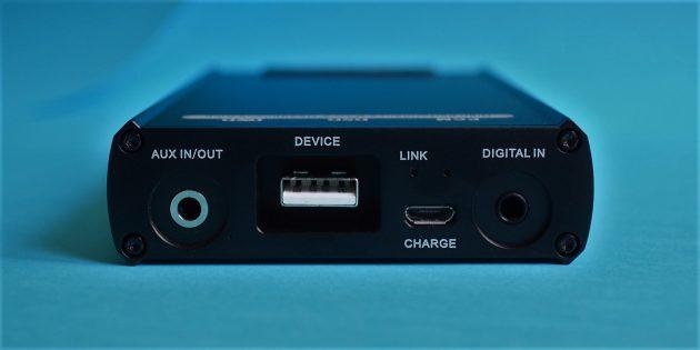 xDuoo XD-05: задняя панель