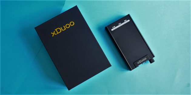 xDuoo XD-05: коробка