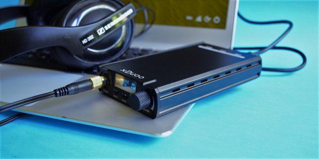 xDuoo XD-05: подключение устройства