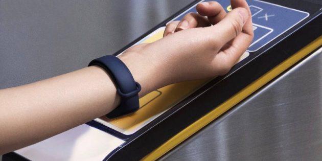 Xiaomi Mi Band 3: датчики