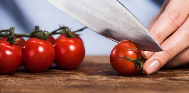 Продукты для кожи: помидоры