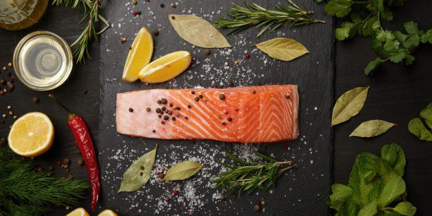 какие продукты надо. Лососёвые виды рыб
