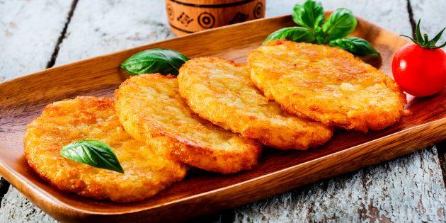 Как легко и быстро приготовить картофельные драники