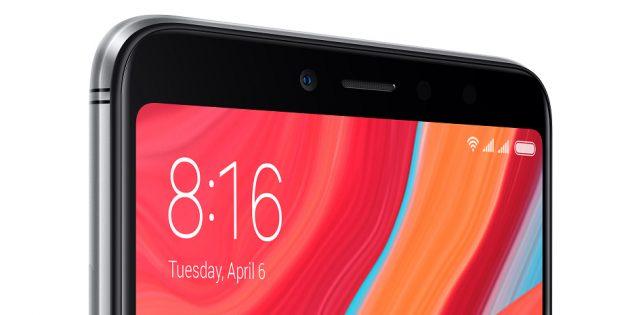 Xiaomi Redmi S2: экран