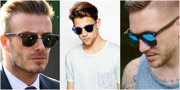 Модные мужские очки Clubmaster
