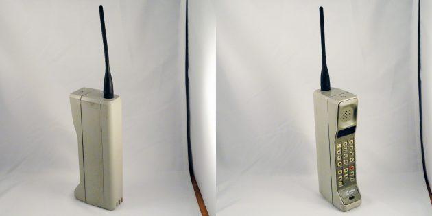Фотоаппарат Polaroid. Motorola DynaTAC 8000X