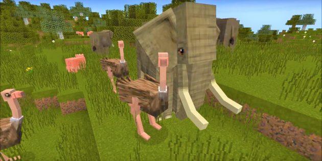 Моды Майнкрафт: Mo'Creatures