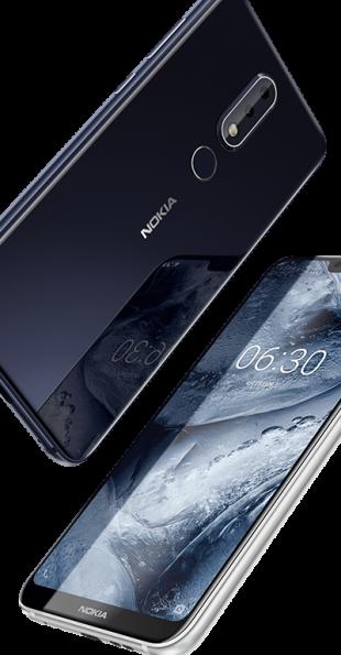 Nokia X6: задняя крышка