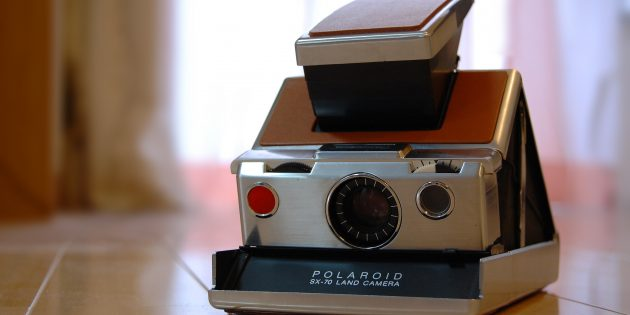 Фотоаппарат Polaroid SX-70 Land Camera