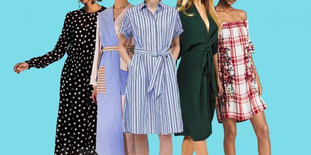 Самые модные платья 2018 года: 10 сногсшибательных моделей и принтов