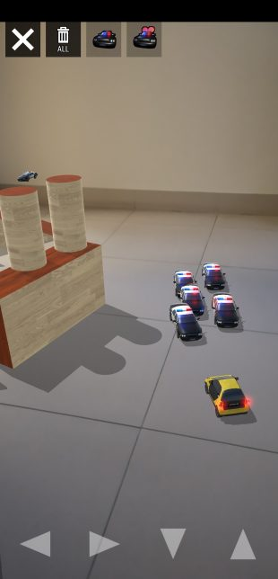 AR Toys: полицейские машины