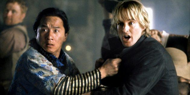 Лучшие фильмы с Джеки Чаном: «Шанхайский полдень»