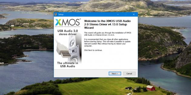 xDuoo XD-05: установка драйвера