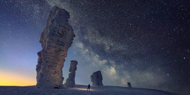 Красивые места России. Столбы выветривания