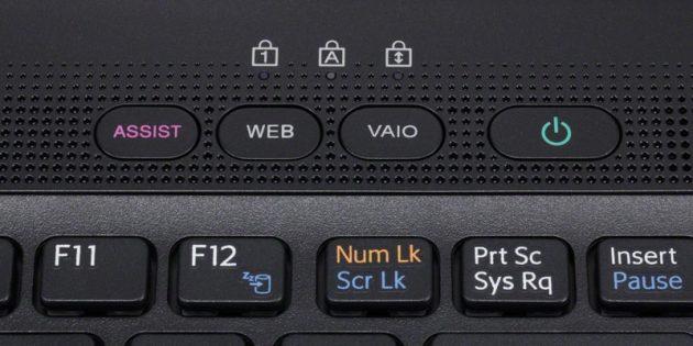 Как зайти в биос на ноутбуке сони: Кнопка ASSIST