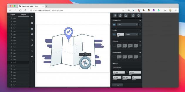 Бесплатные векторные редакторы: Vectr