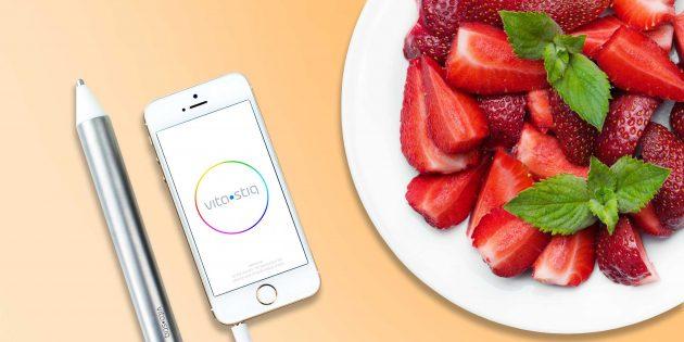 Vitastiq — прибор для контроля уровня витаминов