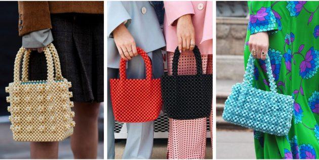 Модные сумки 2018 года: Сумка из бисера