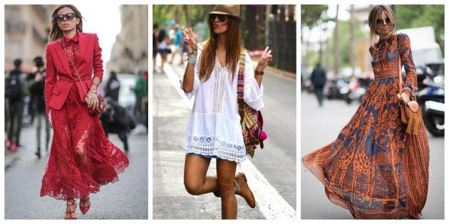 Самые модные платья 2018 года: летние платья в стиле бохо-шик