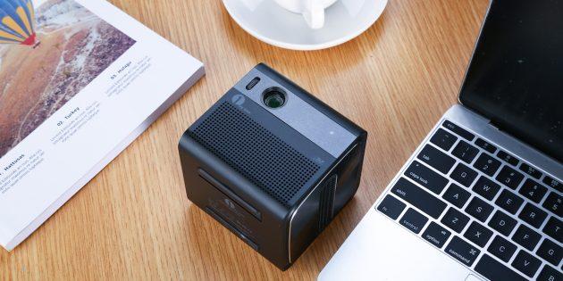 Мини-проектор. Размер