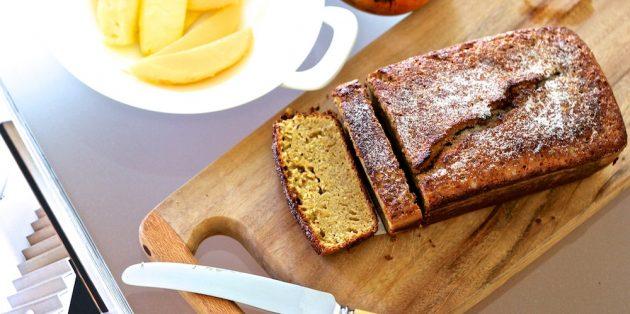 Рецепты с нутом: Апельсиново-нутовый кекс без муки