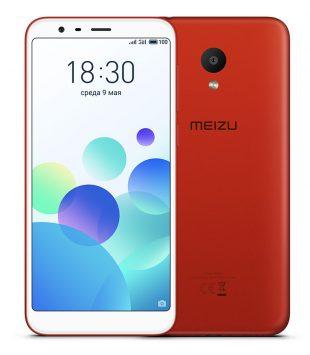 Красный Meizu M8c