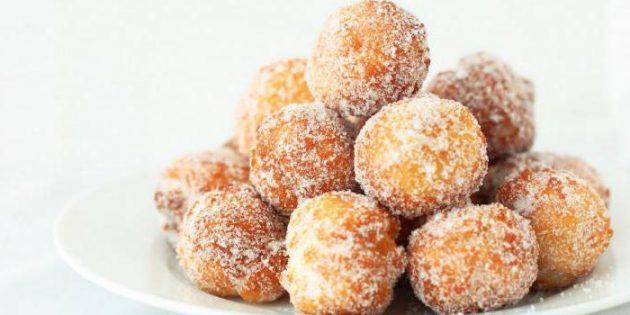 Рецепты пончиков: Пончики на сгущёнке