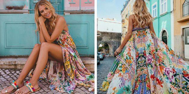 Пляжные платья: Макси-платье
