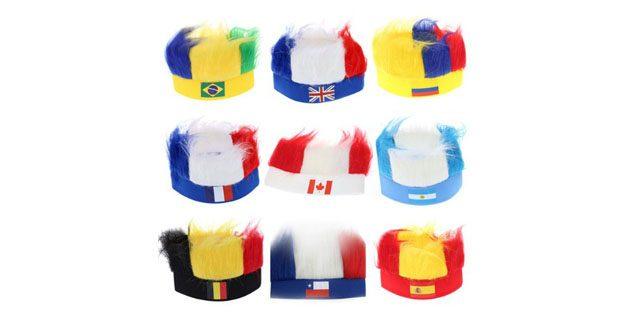 Сувениры к чемпионату мира. Шапка с флагом