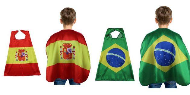 Сувениры к чемпионату мира. Детская накидка