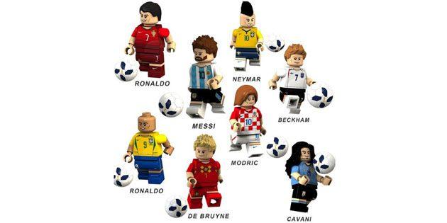 Сувениры к чемпионату мира. Lego-футболисты