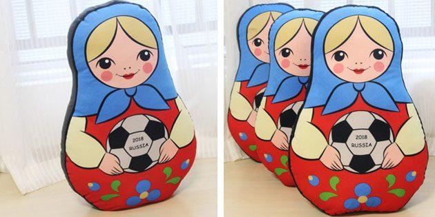 Сувениры к чемпионату мира. Подушка