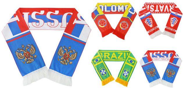 Сувениры к чемпионату мира. Шарф