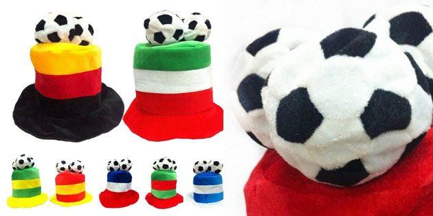 Сувениры к чемпионату мира. Забавная шапка