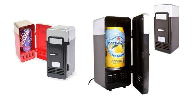 Взять с собой в путешествие: мини USB-холодильник
