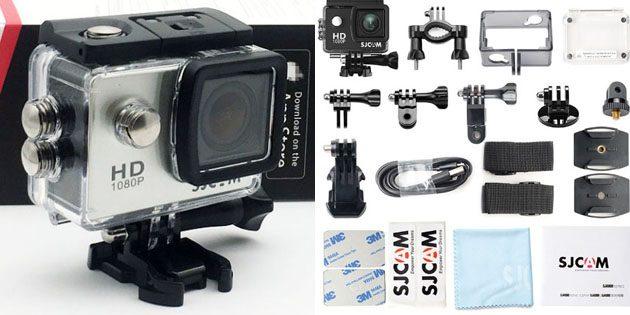 Взять с собой в путешествие: экшен-камера с набором аксессуаров