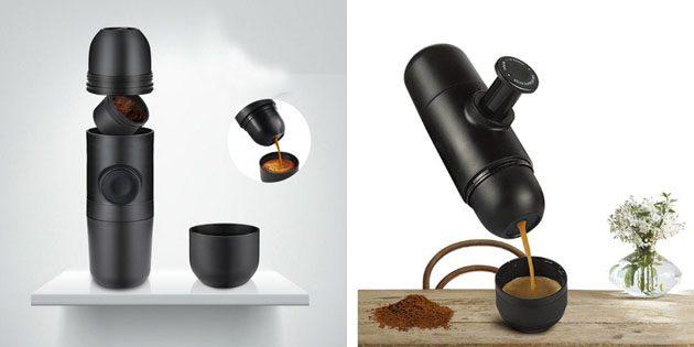 Портативная кофеварка