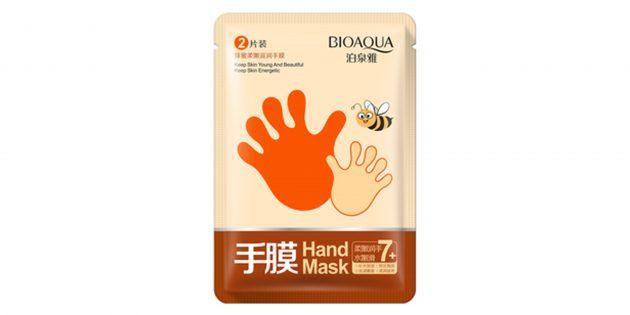 Маска-перчатки с мёдом для рук