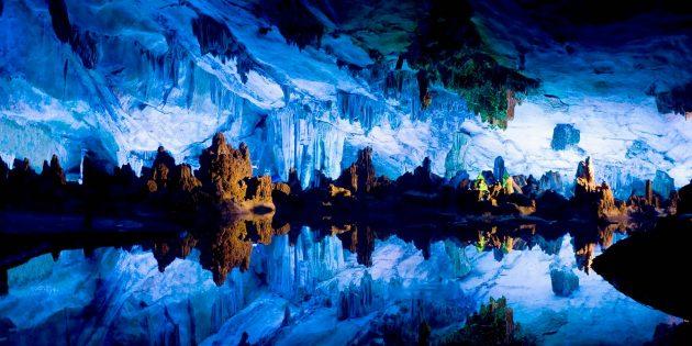 Красивые места России. Кунгурская пещера