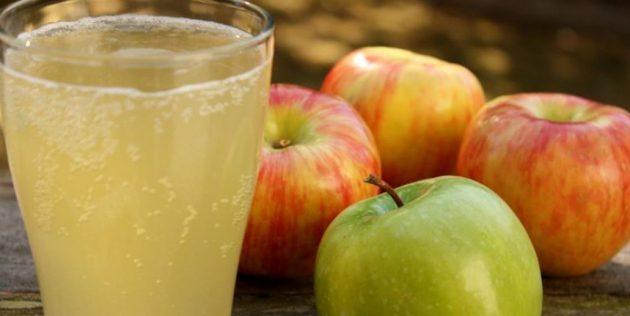 Домашний квас из яблок
