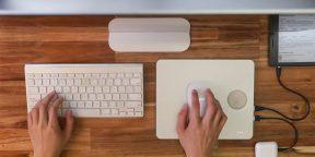 Штука дня: PowerDock — пауэрбанк и подставка для мыши с функцией беcпроводной зарядки