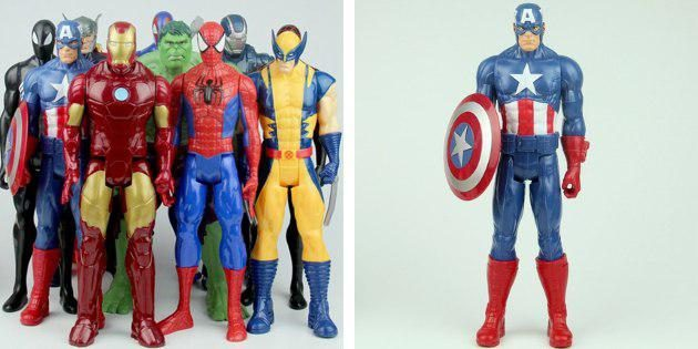 Фигурки супергероев