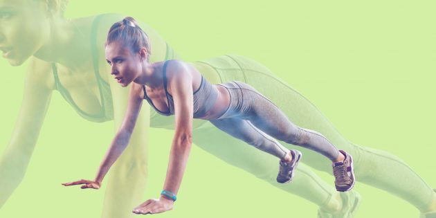 Делайте по 50бёрпи в день, и через месяц преобразится не только ваше тело