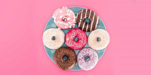 10 рецептов вкусных пышных пончиков с начинками и без