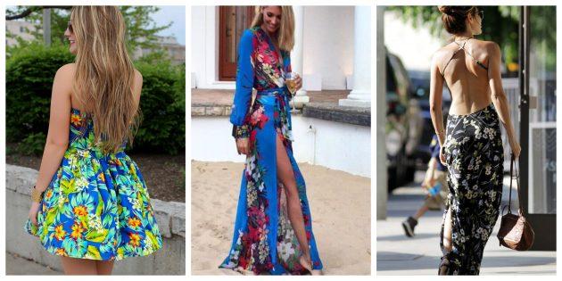 Самые модные платья 2018 года: Пляжные мотивы
