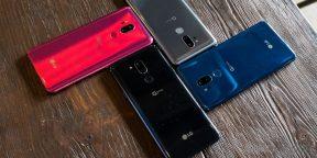 LG представила смартфон G7 ThinQ. И он тоже похож на iPhone X